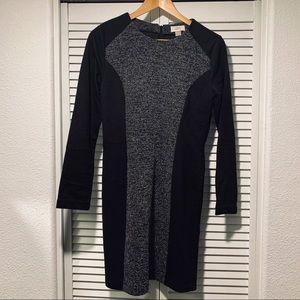 Women's Loft long sleeve body-con dress